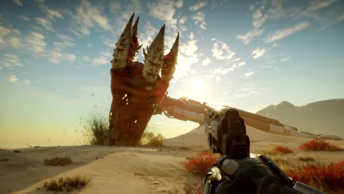 Rage 2 launch trailer has sandworms, cat memes, and Walmart Canada