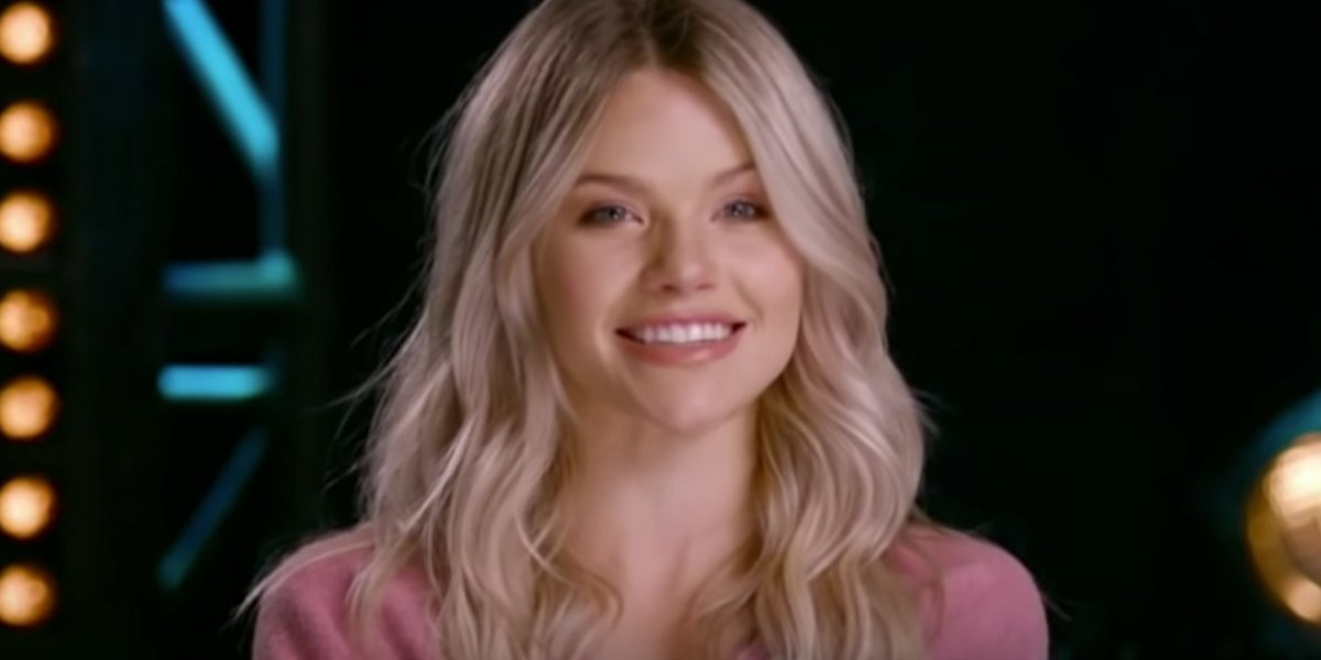 Witney Carson on Dancing With The Stars