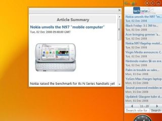 Google Desktop gadget