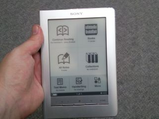 Sony Reader Touch but does it have healthy competition