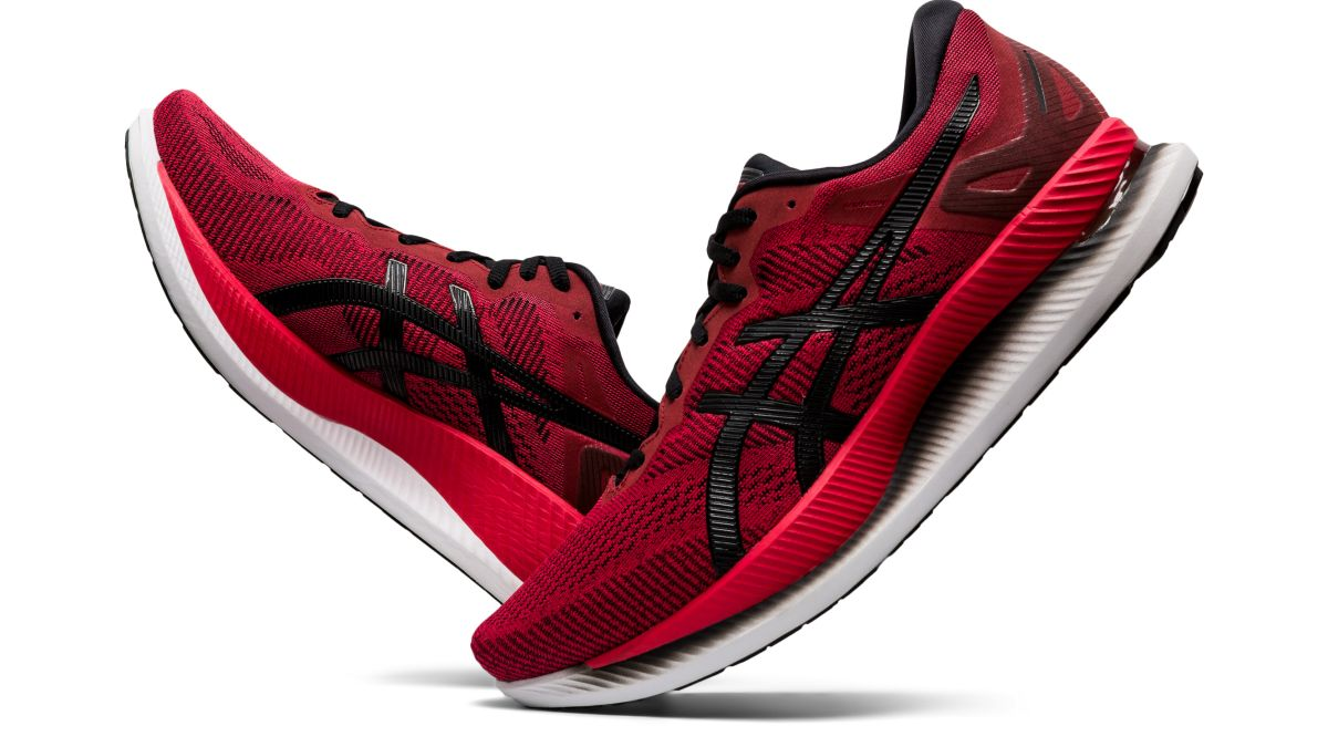 The new Asics Glideride running shoes are FULL of energy