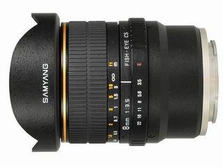 Samyang 8mm lens