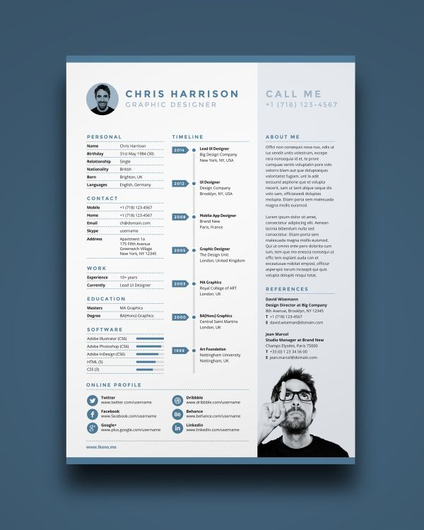 The best free resume templates | Creative Bloq
