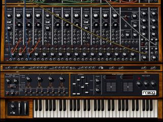 Relax not every synth looks as intimidating as the Moog Modular V