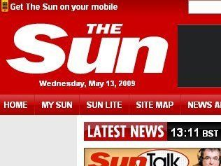 The Sun - popular with UK, but Mail has flourished globally