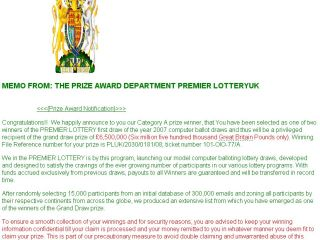 Microsoft and Yahoo to fight 'Lottery win fraud' | TechRadar