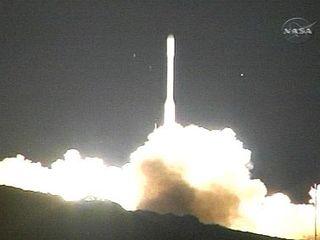 NASA's Taurus rocket at launch
