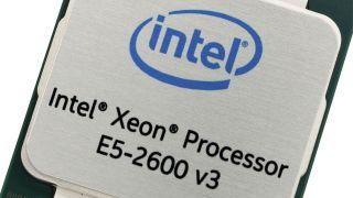 The Intel Xeon e5-2600 v3 server processor.