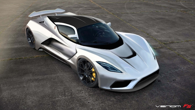 hennessey' venom f5 eyes up the 290mph mark | t3