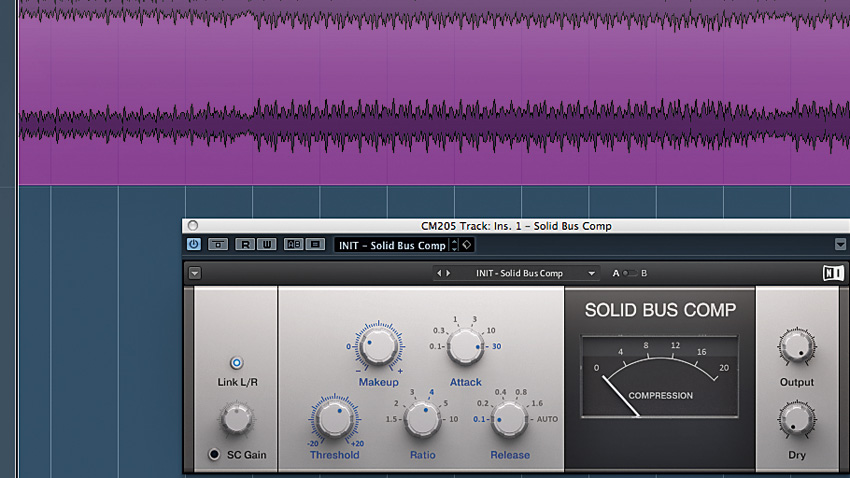 How to 'gel' a mix with master bus compression | MusicRadar