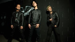 A portrait of Green Day