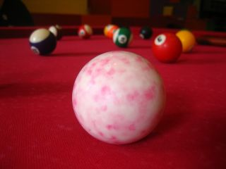 pool table, particles, atoms