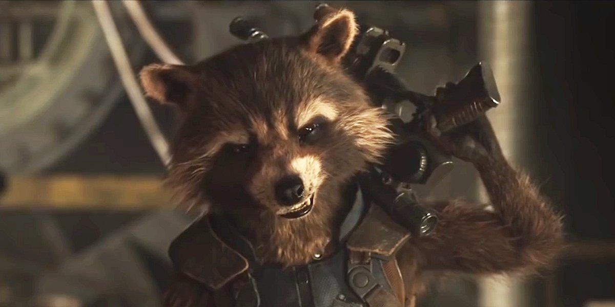 Bradley Cooper as Rocket Raccoon in Guardians of the Galaxy Vol. 2