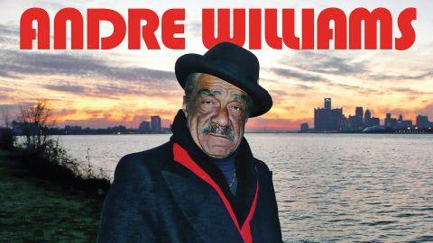 Andre Williams I Wanna Go Back To Detroit City album cover