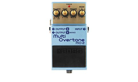 The Boss MO-2 is similar to a harmoniser or octave pedal but with a modulation twist