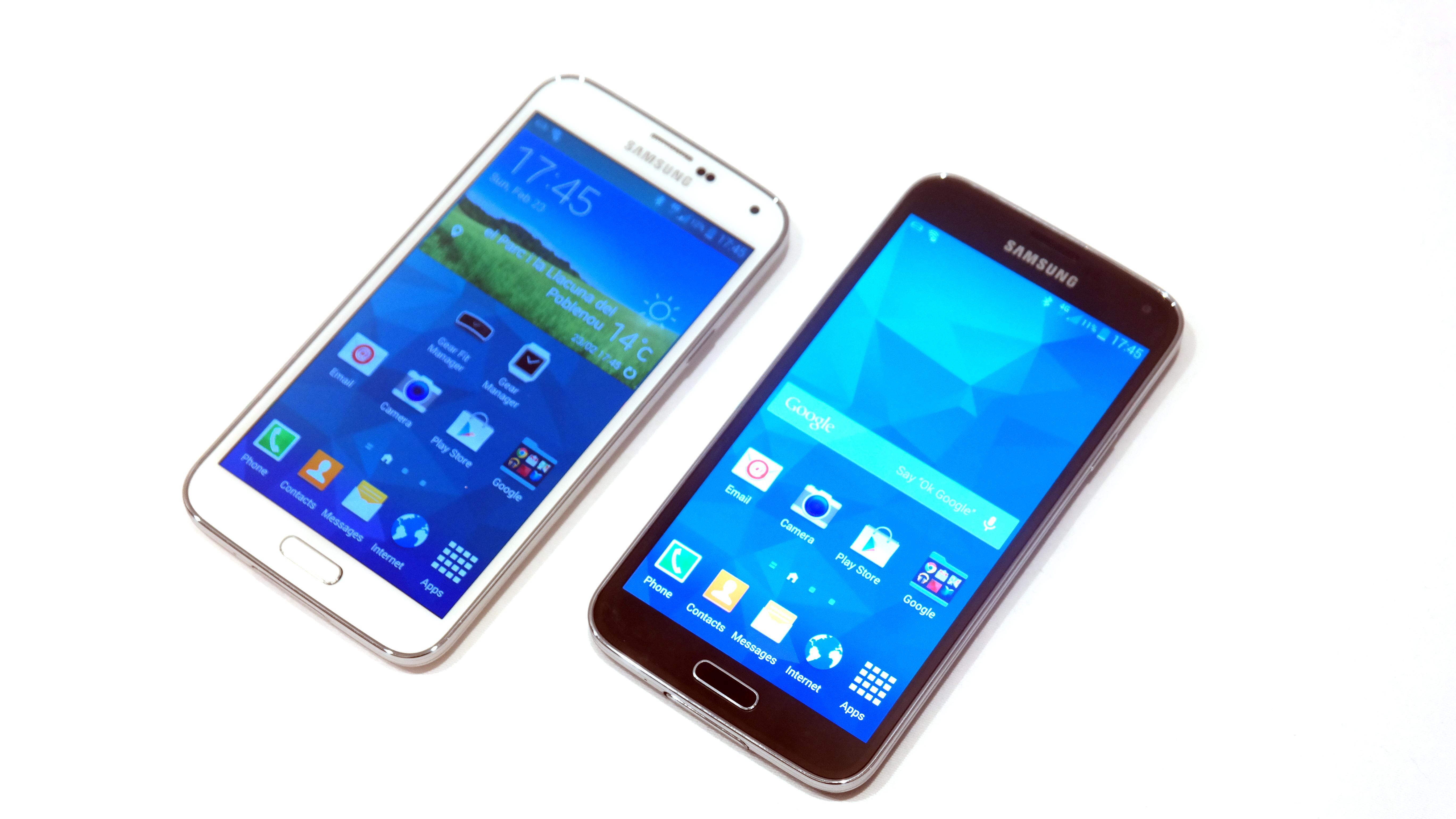 Samsung Galaxy S5 vs Samsung Galaxy S4 | TechRadar