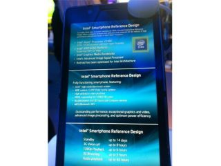 Intel unveils reference design for smartphones