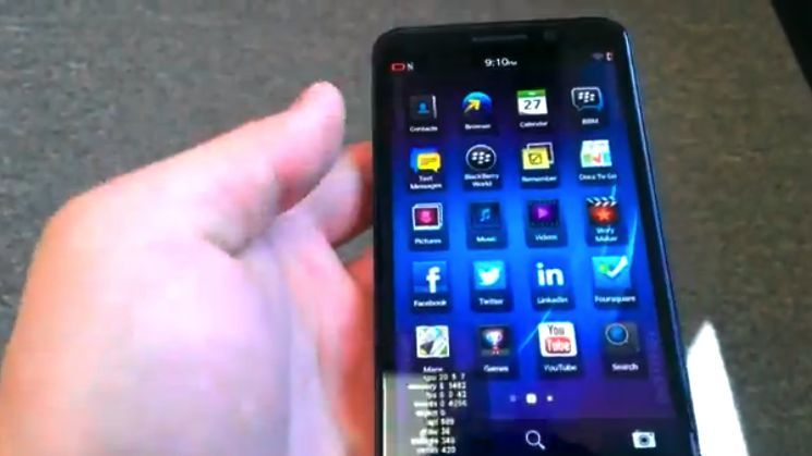 Yes, BlackBerry still makes phones, and the Z30 can't stop leaking
