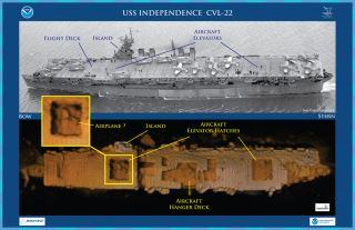 USS Independence CVL 22, world war ii, wwii, aircraft carrier