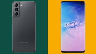Samsung Galaxy S21 vs Samsung Galaxy S10