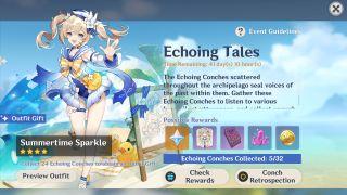 Genshin Impact 1.6 Echoing Conch