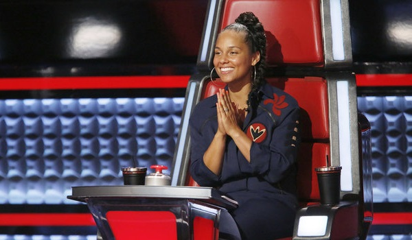 Alicia Keys The Voice NBC