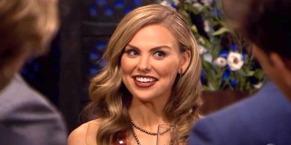 The Bachelorette 2019 Hannah Brown smiles silver necklace ABC