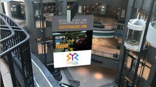 Daktronics Provides Massive Digital Banner For Pyramid Management Group