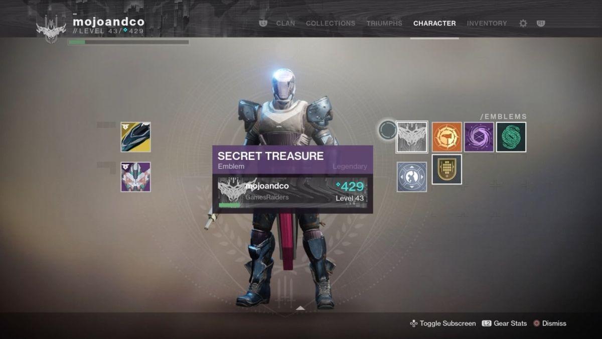 How to get the Secret Treasure in Destiny 2: Forsaken's