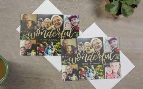 Snapfish Christmas Cards.Snapfish Photo Card Review Personalization And Print