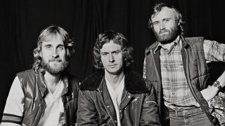 And then there were three: (l-r) Mike Rutherford, Tony Banks and Phil Collins.