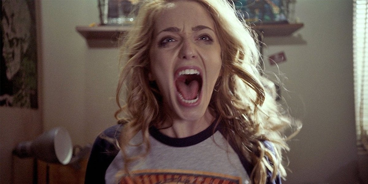 Jessica Rothe as Tree in Happy Death Day