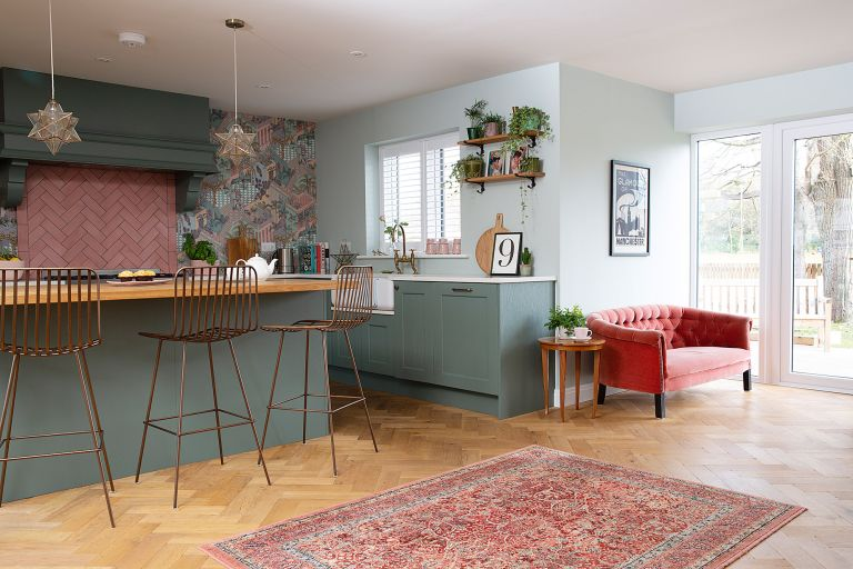 5 kitchen ideas that prove wallpaper is basically magic