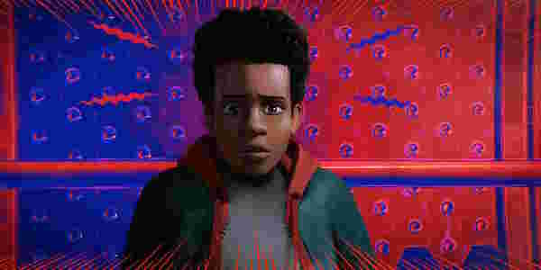 Into the spider verse miles