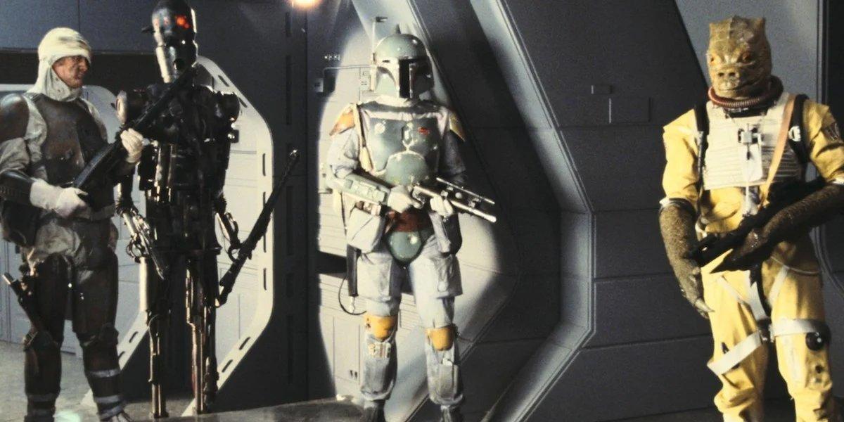 Bounty Hunters in Empire Strikes Back