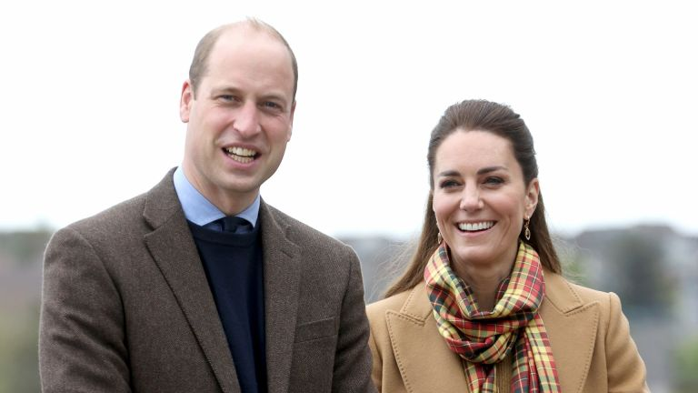 Prince William and Kate Middleton, Duchess of Cambridge arrive to officially open The Balfour