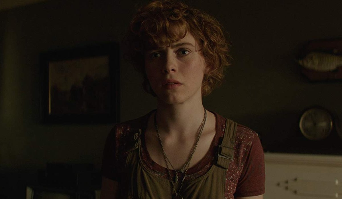 IT Chapter Two Sophia Lillis standing in her childhood home