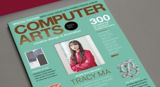 The 300th, redesign issue of Computer Arts