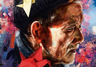 Paint expressive portrait art