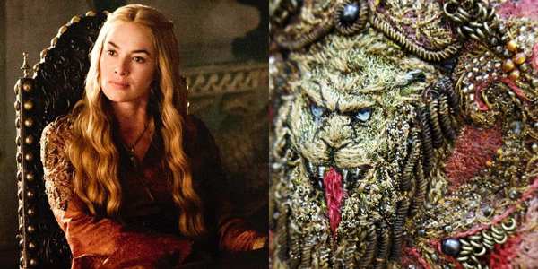 Of Thrones Costume Photos Show Off Beautiful Embroidery