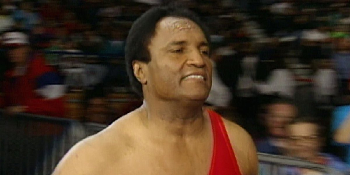 Carlos Colon at the Royal Rumble