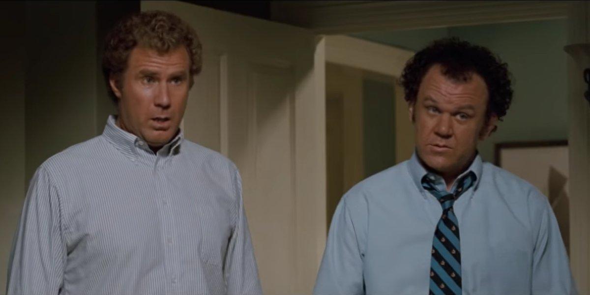 Will Ferrell and John C. Reilly becoming best friends