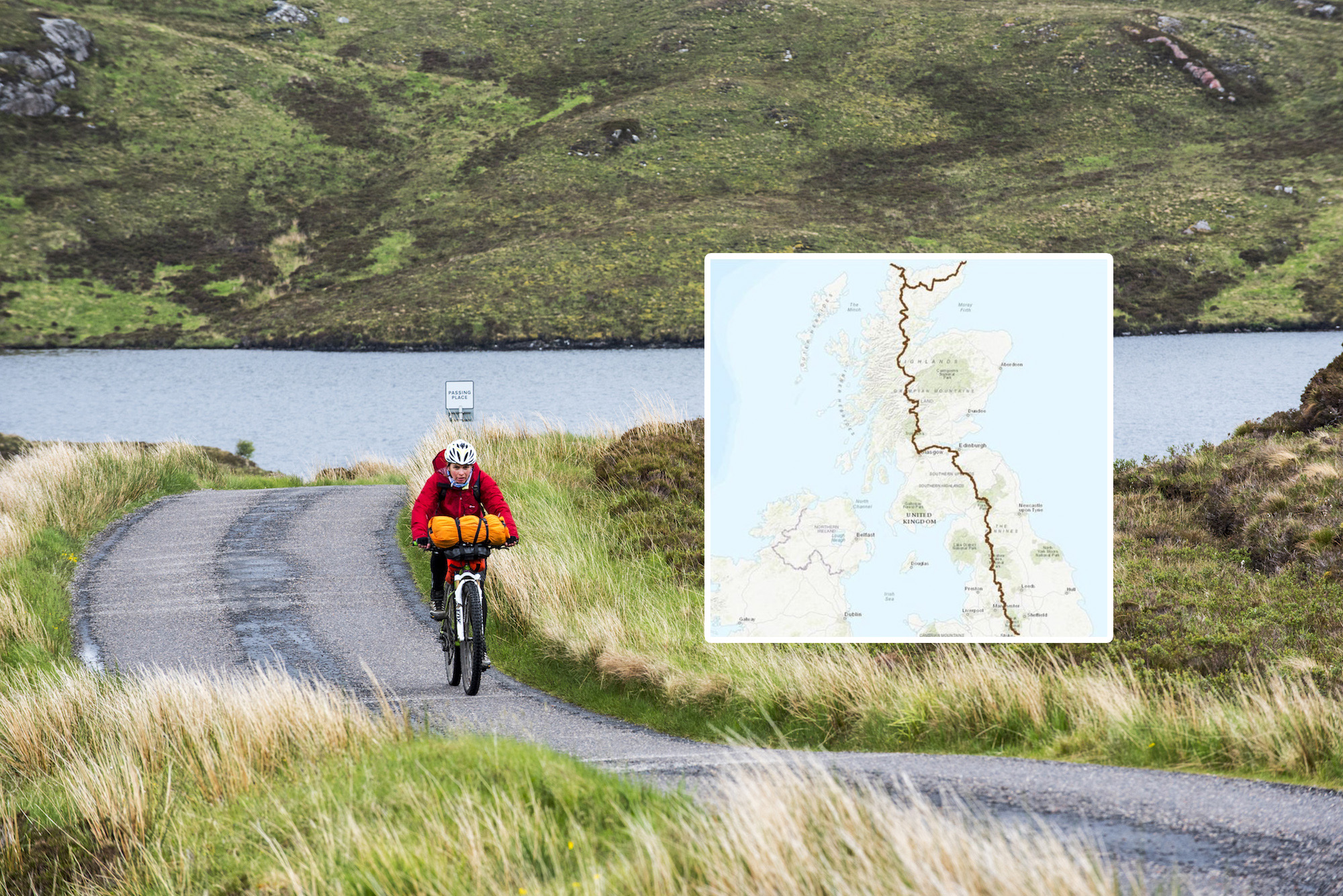 800-mile off-road cycle route launched from England to north coast of Scotland