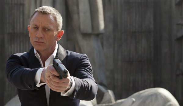 Daniel Craif James Bond Skyfall william tell scene