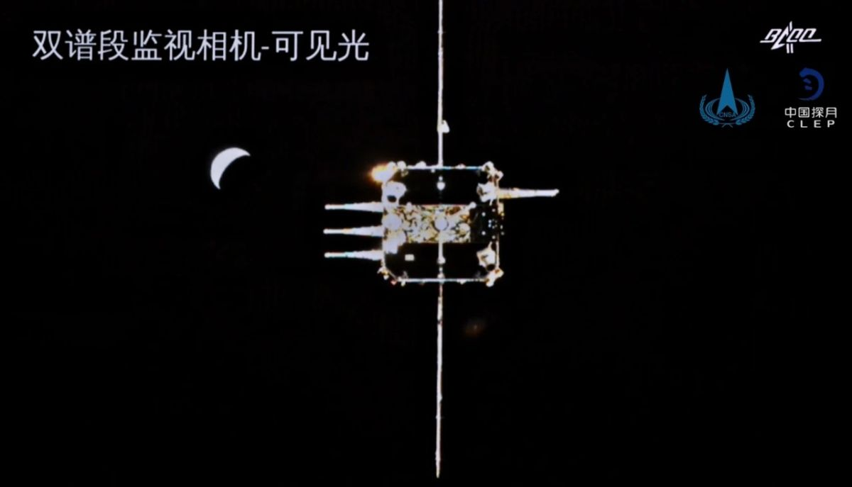 China's Chang'e 5 aces lunar orbit docking needed to bring moon samples home