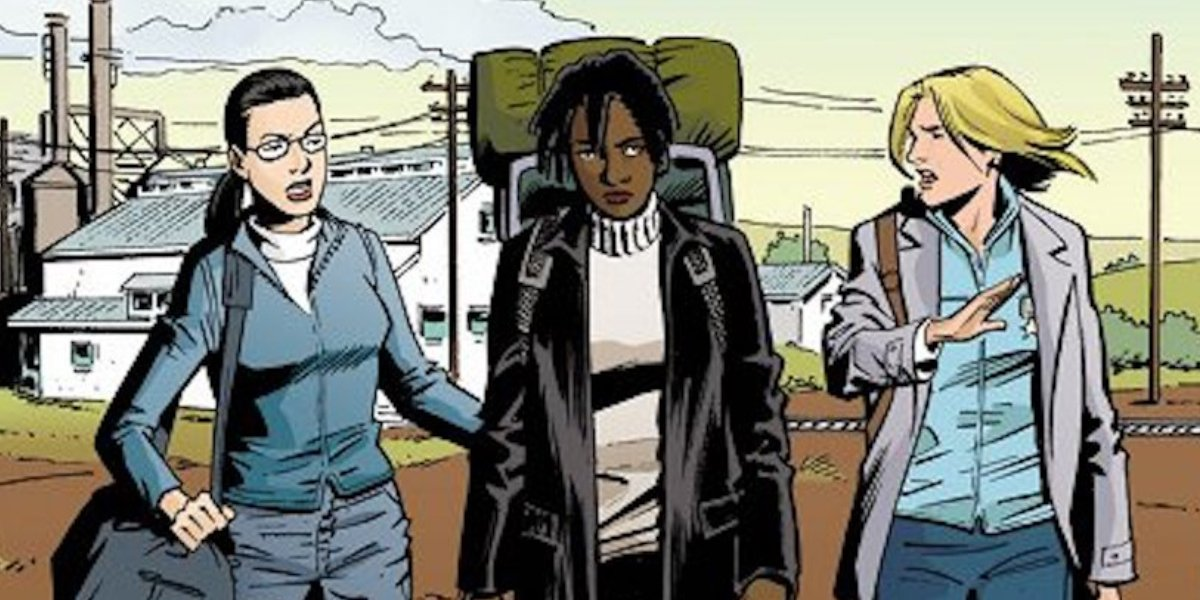Female characters from Y: The Last Man