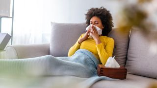 The new coronavirus spreads mainly through respiratory droplets that launch into the air when an infected person coughs or sneezes.