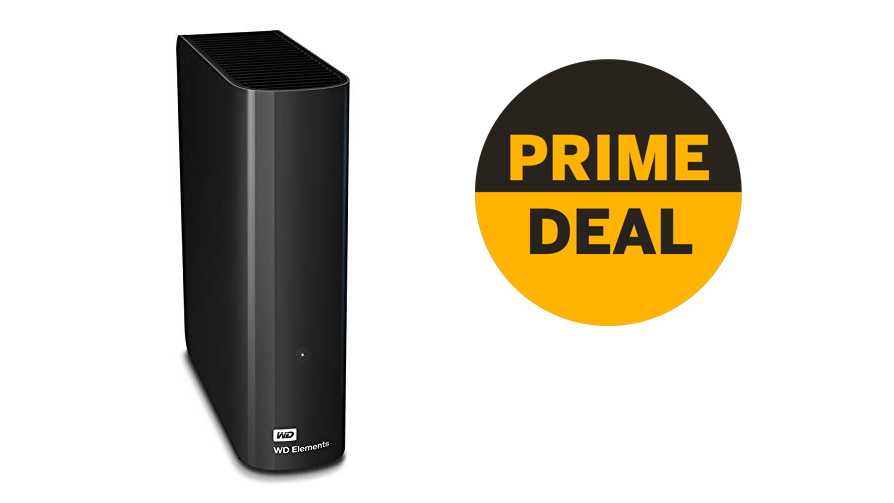 WD Elements 8TB Desktop HDD reduced by £33 in Amazon Prime Day deal | Digital Camera World