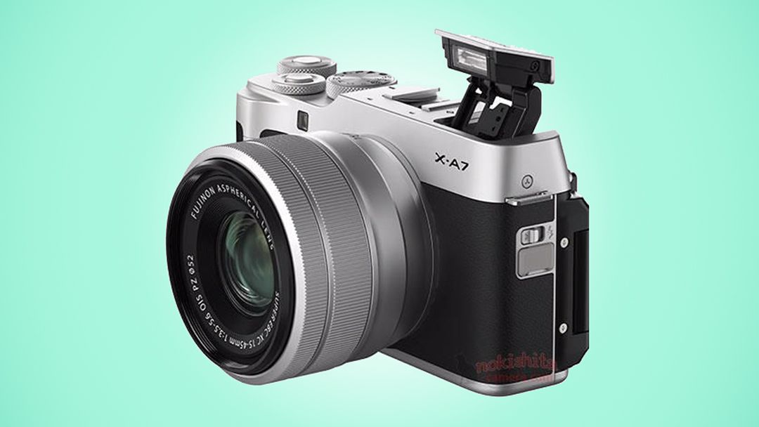 Fujifilm X-A7 images leak out, showing huge LCD and AF lever