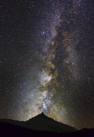Milky Way Mount Manaslu